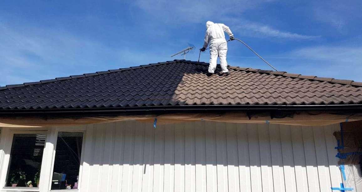 GN måleri och bygg hjälper gärna er med fasad och takmålning